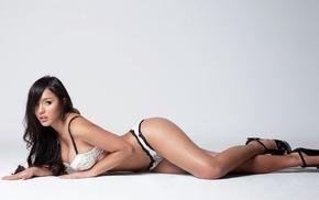 girl, model, Andrea Ballesteros, high heels