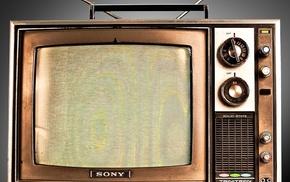 TV, vintage, Sony