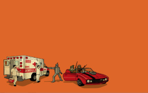 ambulances, robot, The Wizard of Oz