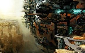canyon, structure, Guild Wars 2, bridge