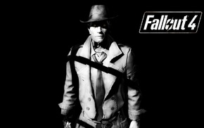 video games, Fallout 4, Fallout, Nick Valentine, Bethesda Softworks