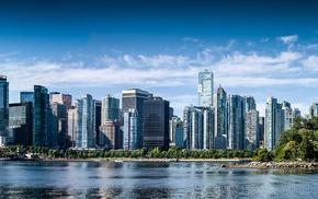 ultrawide, city, panorama, cityscape