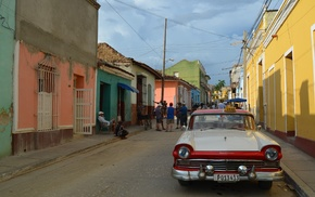 Oldtimer, Cuba, Caribbean
