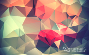 programming, PHP, code, minimalism, low poly, colorful