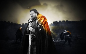medieval, Battlefield, Ned Stark, Game of Thrones