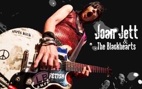 Joan Jett, band, guitar