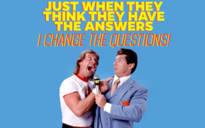 wrestling, WWE, rowdy roddy piper