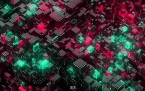 cube, abstract