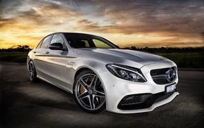 white cars, biturbo, Mercedes, AMG, mercedes cls