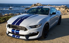 muscle cars, Shelby GT500, pony, Shelby GT350, Shelby, American cars