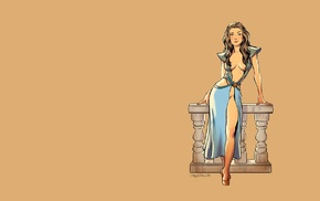 fantasy art, Game of Thrones, pinup models, girl, Margery Tyrell