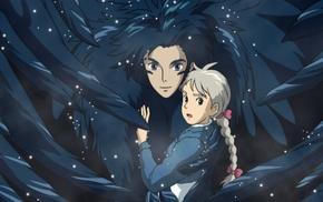 movies, Howl, Howls Moving Castle, anime, anime girls, Hayao Miyazaki