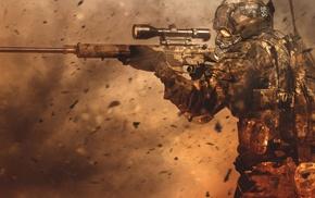 soldier, fantasy art