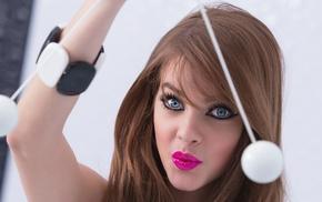face, model, makeup, Barbara Palvin, girl