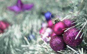 macro, Christmas ornaments