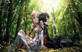 Yuuki Asuna, Sword Art Online, anime, anime girls