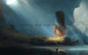 quote, pixelated