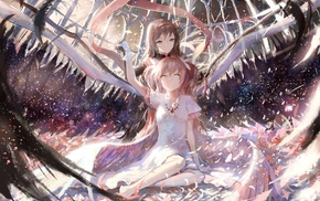 Mahou Shoujo Madoka Magica, anime, Akemi Homura, artwork, anime girls, Kaname Madoka