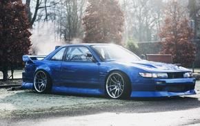 Silvia, tuning, S13, JDM, car, Nissan