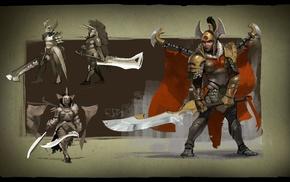 sword, Valve, knight, Valve Corporation, Legion Commander, Dota