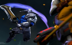 Valve, sword, Defense of the ancient, Juggernaut, Dota, Online games