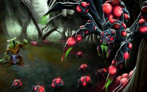 Dota, spider, Dota 2, Online games, Valve Corporation, Broodmother