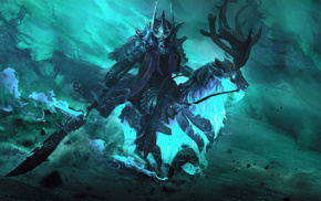 Valve Corporation, Dota 2, video games, Valve, knight, Abaddon