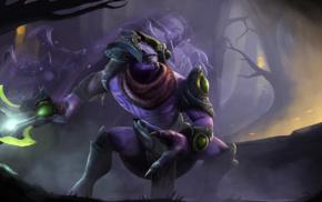 Faceless Void, Defense of the ancient, fantasy art, Dota, Dota 2, Valve Corporation