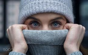 face, blue eyes, girl, 500px, eyes