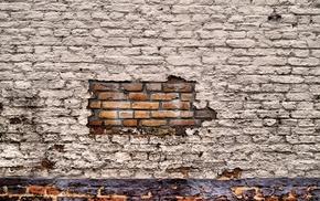 bricks, texture, wall