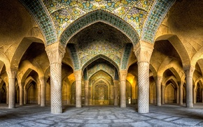 urban, landscape, panoramas, architecture, Islam, Iran