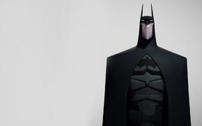 Batman, illustration, simple background, DC Comics