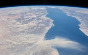 water, space, space art, Earth, render