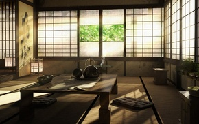 photography, Japan, architecture, interior, japanese interior