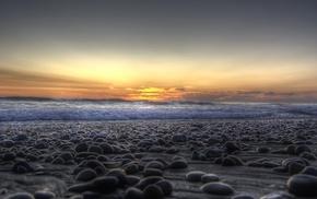 water, photography, beach, stones, sea