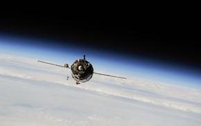 spaceship, space, Earth, Soyuz, photography, Russian spaceship