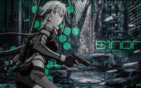 anime girls, Sword Art Online, Asada Shino