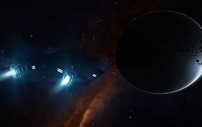 space, Elite Dangerous