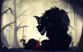 wolf, Little Red Riding Hood