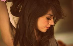 girl, brunette, Emily Grey