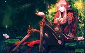 elves, fantasy art, artwork