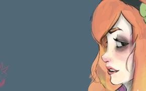 green eyes, redhead, Vivian James, GamerGate