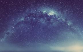 sky, stars, nebula, space