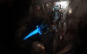 Dead Space, Isaac Clarke, concept art, video games, sword