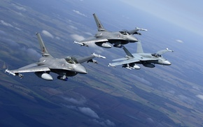 General Dynamics F, 16 Fighting Falcon, aircraft, military aircraft, McDonnell Douglas FA, 18 Hornet