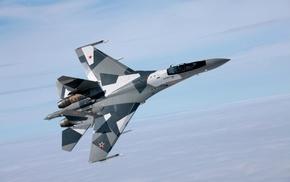 Russian Air Force, Sukhoi Su, 27, aircraft, military aircraft
