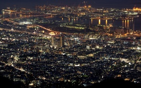 city, cityscape, photography, night, lights