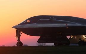 multiple display, Bomber, dual monitors, strategic bomber, military aircraft, Northrop Grumman B