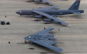 Northrop Grumman B, 2 Spirit, military aircraft, strategic bomber, Bomber, Boeing B