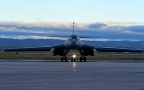 military aircraft, Bomber, Rockwell B, 1 Lancer, aircraft, strategic bomber